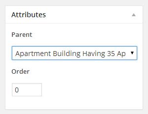 Atributos de propriedade