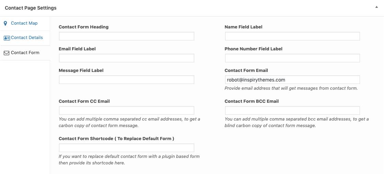 Guia Formulário de contato