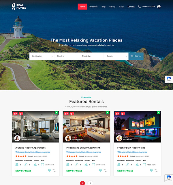 Vacation Rentals New